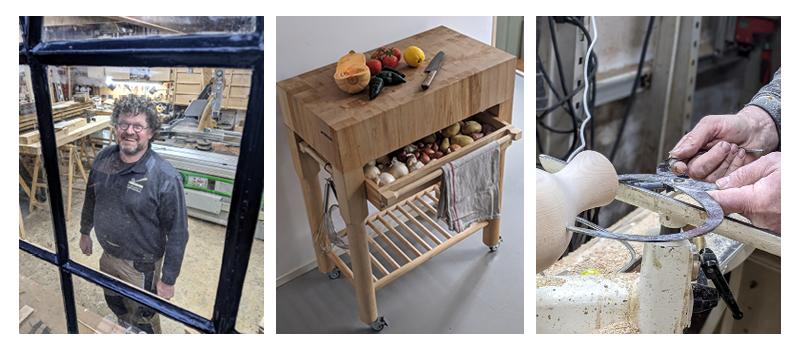 Meubelmakerij Theo Ruigrok, een moderne, ambachtelijke meubelmakerij in het hart van Schipluiden.